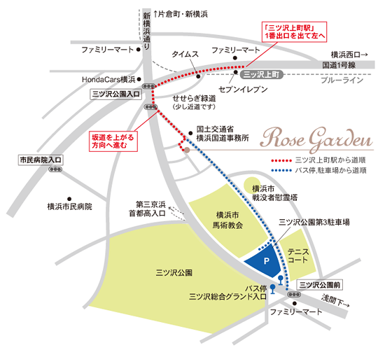rosegarden map